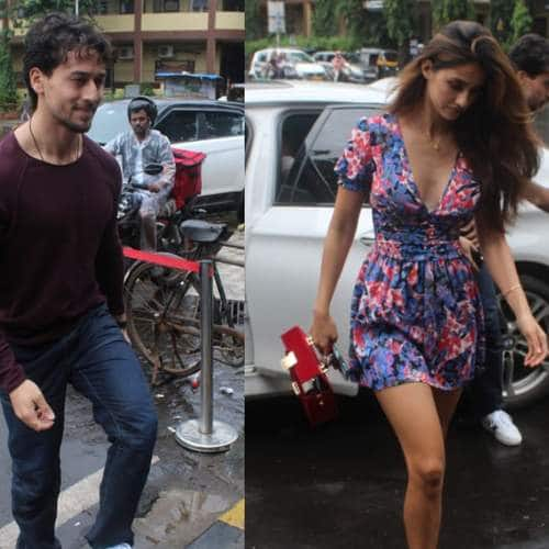 Spotted: Tiger And Disha Spotted On Lunch Date, Ananya Panday Looks Cute In A Red Dress!