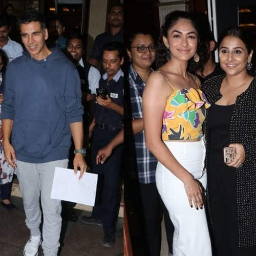 Spotted: Mission Mangal And Batla House Cast Promotes Their Films Together!