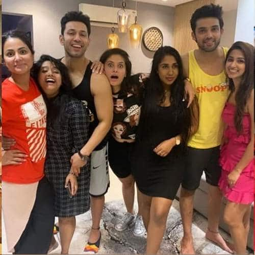 Parth Samthaan Throws A Housewarming Party, Kasautii Cast Including Hina Attend But Erica Gives It A Miss! See Pictures...