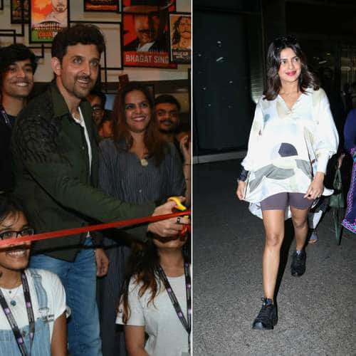 Spotted: Priyanka Chopra Comes Back To Indian For The Sky Is Pink Promotions, Hrithik Roshan Inspire Young Actors