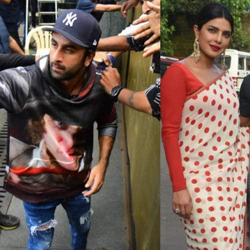 Spotted: Ranbir Kapoor Meets Fans On Birthday, Priyanka And Farhan Continue The Sky Is Pink Promotions!