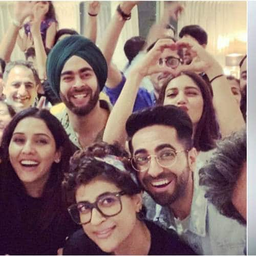 Ayushmann Khurrana's Birthday Party Was All About Salsa On Tunak Tunak Dhun And More