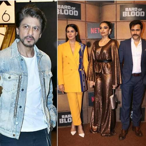 Bard Of Blood Screening: Shah Rukh, Parineeti And Others Show Love To Emraan Hashmi's Web-Series