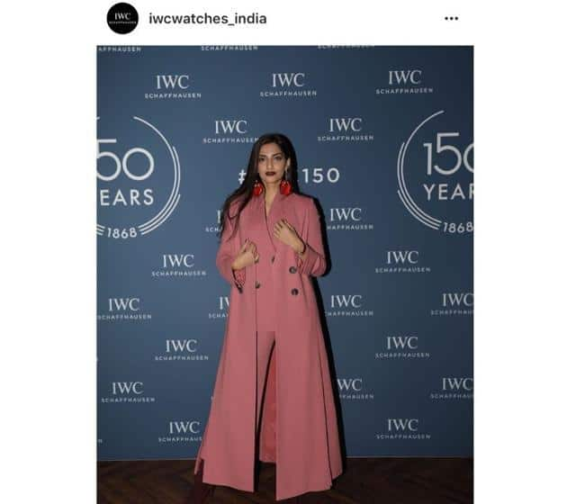 Sonam Kapoor Shows You How To Wear And Nail Pink-On-Pink From Head-To-Toe!