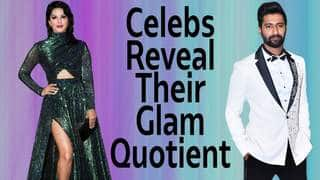 From Sunny Leone To Vicky Kaushal, Celebs Reveal Their Glam Quotient