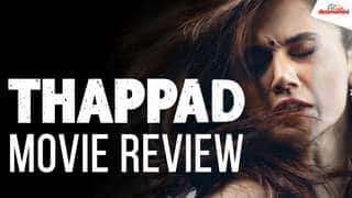 Thappad Movie Review | Taapsee Pannu | Anubhav Sinha