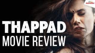 Thappad Movie Review | Taapsee Pannu | Anubhav Sinha