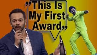 Ranveer Does Aankh Maarey Step To Award Rohit Shetty The Most Stylish Filmmaker