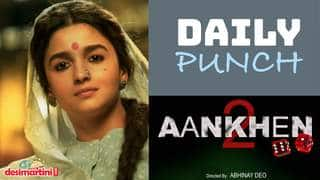 Daily Punch - Alia Bhatt's Gangubai Kathiawadi To Release In Cinemas