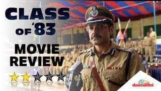Class Of '83 Movie Review  - Bobby Deol, Netflix India