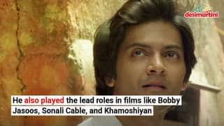 Here's a look at Ali Fazal's journey in the film industry