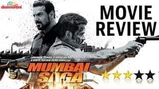 Movie Review Mumbai Saga - Emraan H, Suniel S, John A, Kajal A, Mahesh M