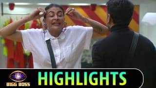 Bigg Boss Highlights : Pavitra Punia and Eijaz Khan were brought back, bit put into the red zone.