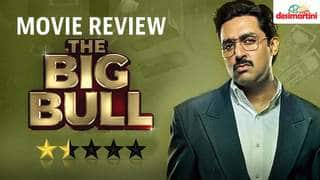 Movie Review - The Big Bull | Abhishek B, Ileana D, Nikita D, Sohum S | Kookie Gulati |
