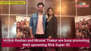 Spotted Today: Hrithik Roshan Promotes Super 30, Malaika Arora Is Back To Her Yoga Practice