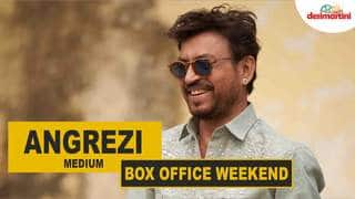 Weekend Box Office | Angrezi Medium | #TutejaTalks