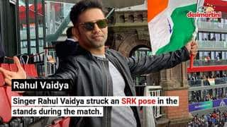 India Vs. Pakistan World Cup: Celebrities Spotted Cheering From The Stands