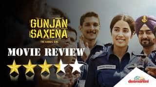 Gunjan Saxena: The Kargil Girl Movie Review | Janhvi Kapoor | Pankaj Tripathi | Sharan Sharma