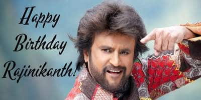 Twitter Wishes Rajinikanth A Happy Birthday Desimartini