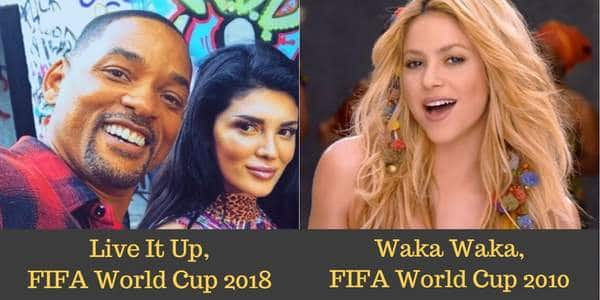 Fifa World Cup 2018 Songs