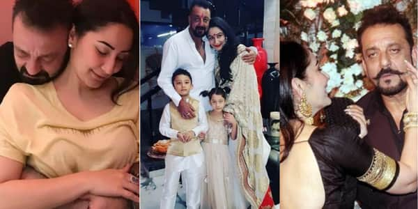 In Pictures: The Love Story Of Sanjay Dutt And Manyata ...