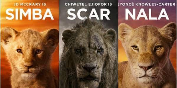 lion king characters posters are finally here  take a look at simba