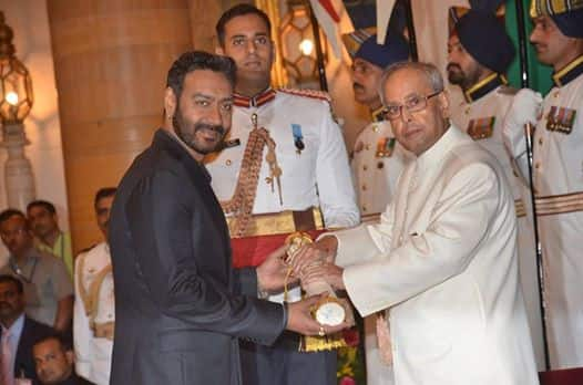 Ajay Devgn On Receiving Padma Shri By The President