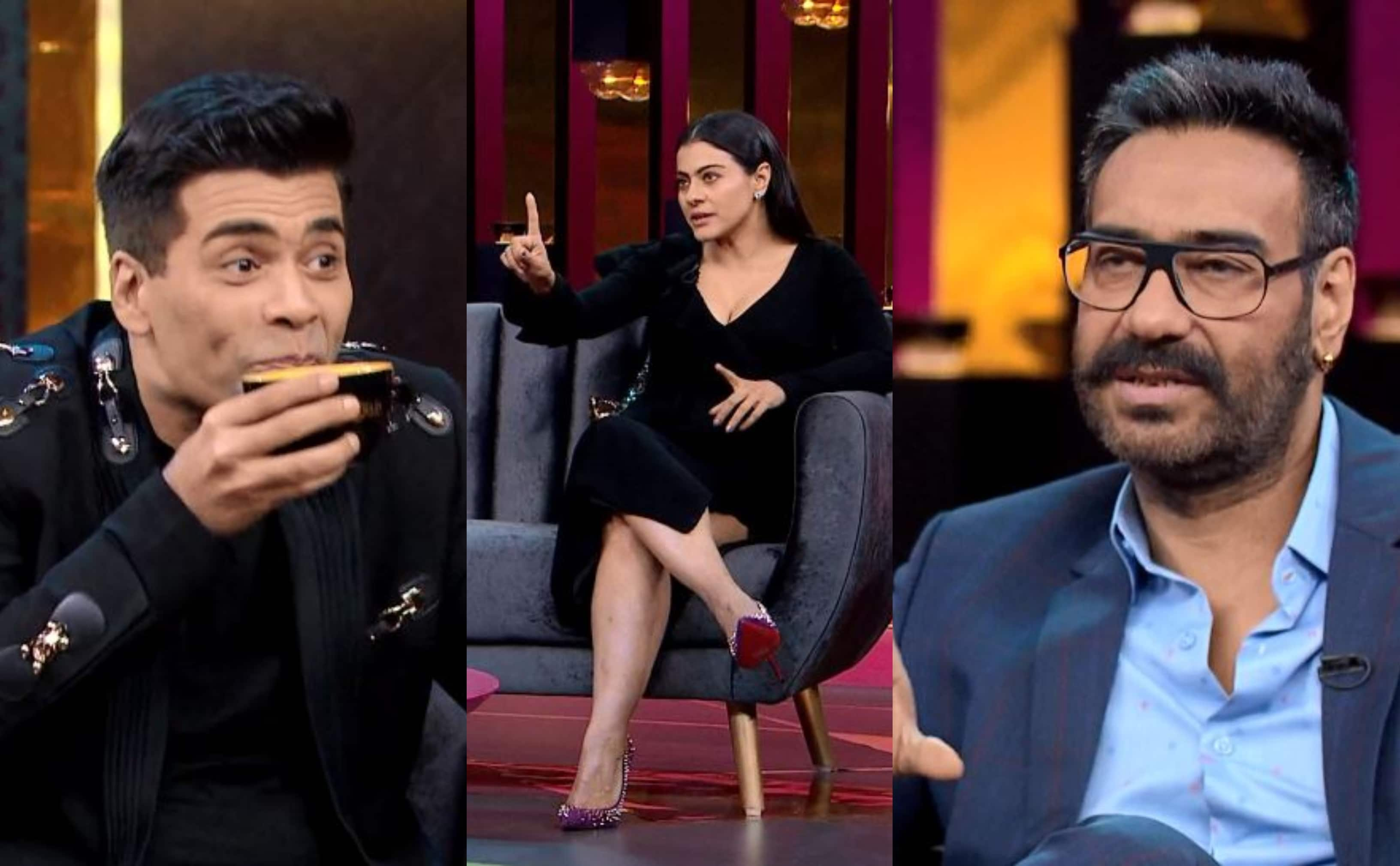 Here's Why The Ajay Devgn-Kajol Episode Of Koffee With Karan I