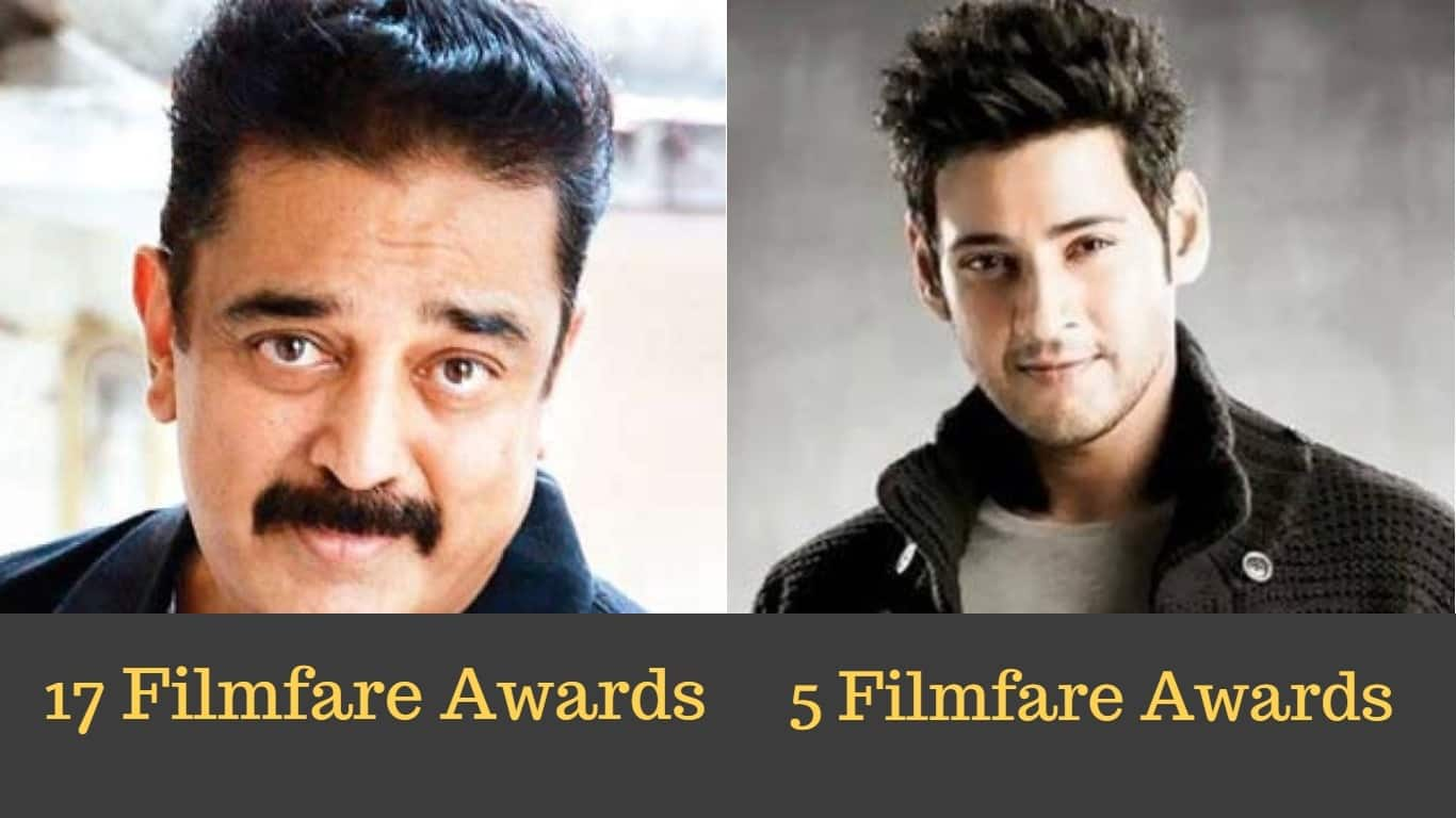 8 South Indian Actors With The Most Number Of Filmfare Award