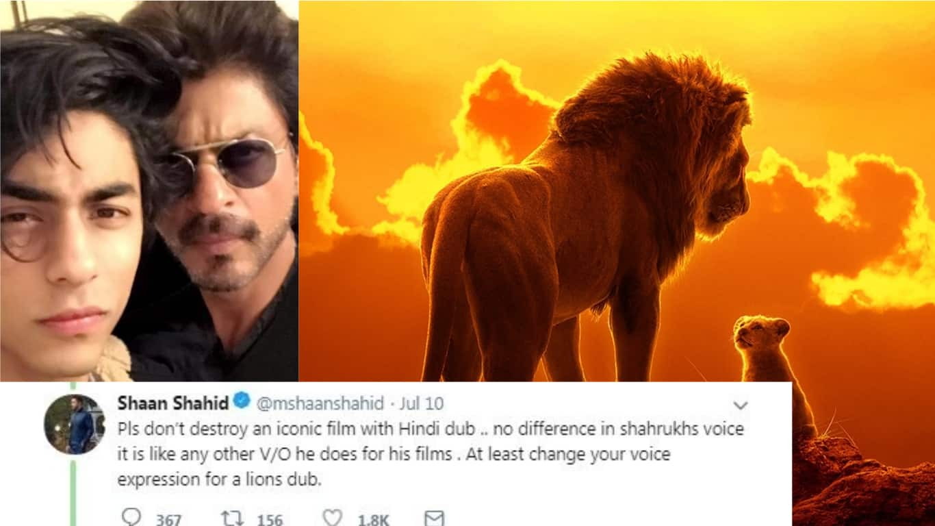 Pakistani Actor Shaan Shahid Asks Shah Rukh Khan Not To Ruin The Lion King With Hindi Dub Angers Fans Desimartini