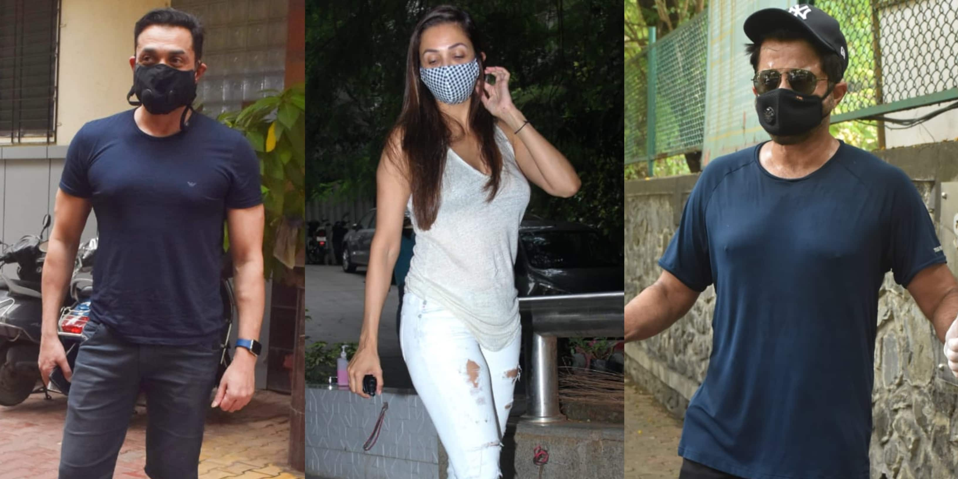 Spotted: Malaika Arora Enjoys A Salon Sesh, Bobby Deol Steps Out In The City