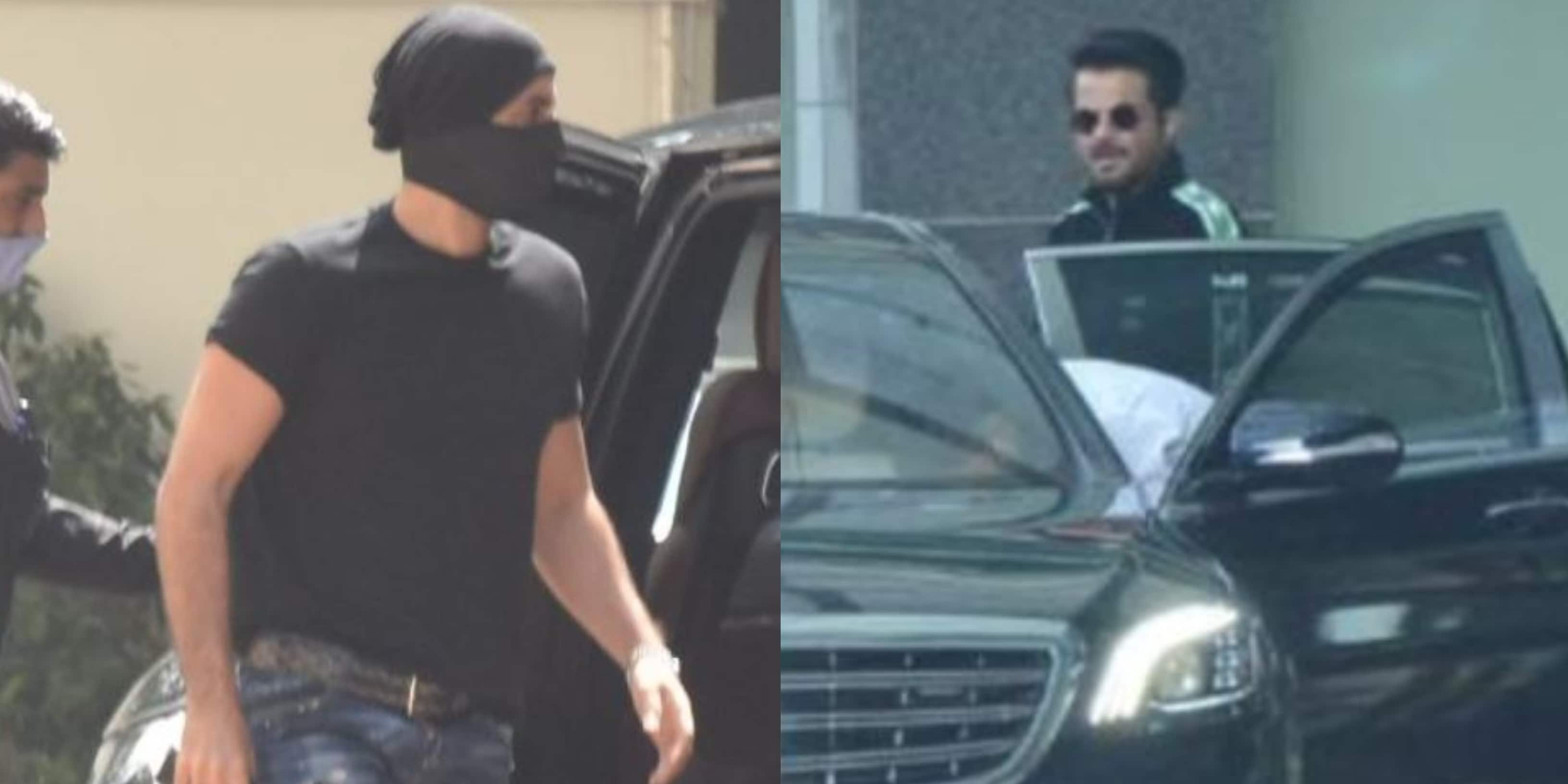 Spotted: Ranbir Kapoor, Anil Kapoor Seen Outside YRF Office; Is A New Film On Cards?