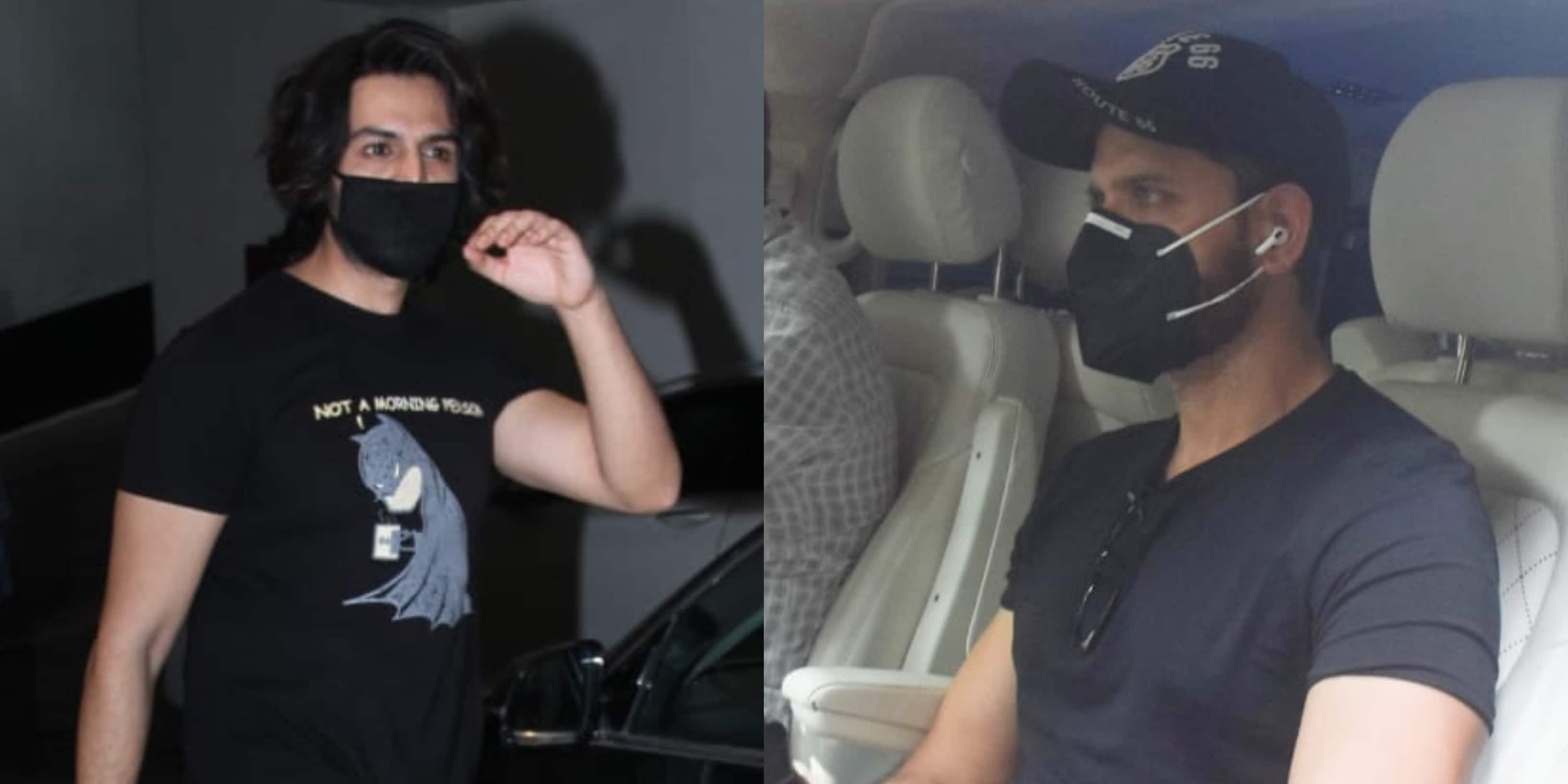 Spotted: Kartik Aaryan Flaunts His New Hairstyle; Hrithik Roshan Snapped In The City