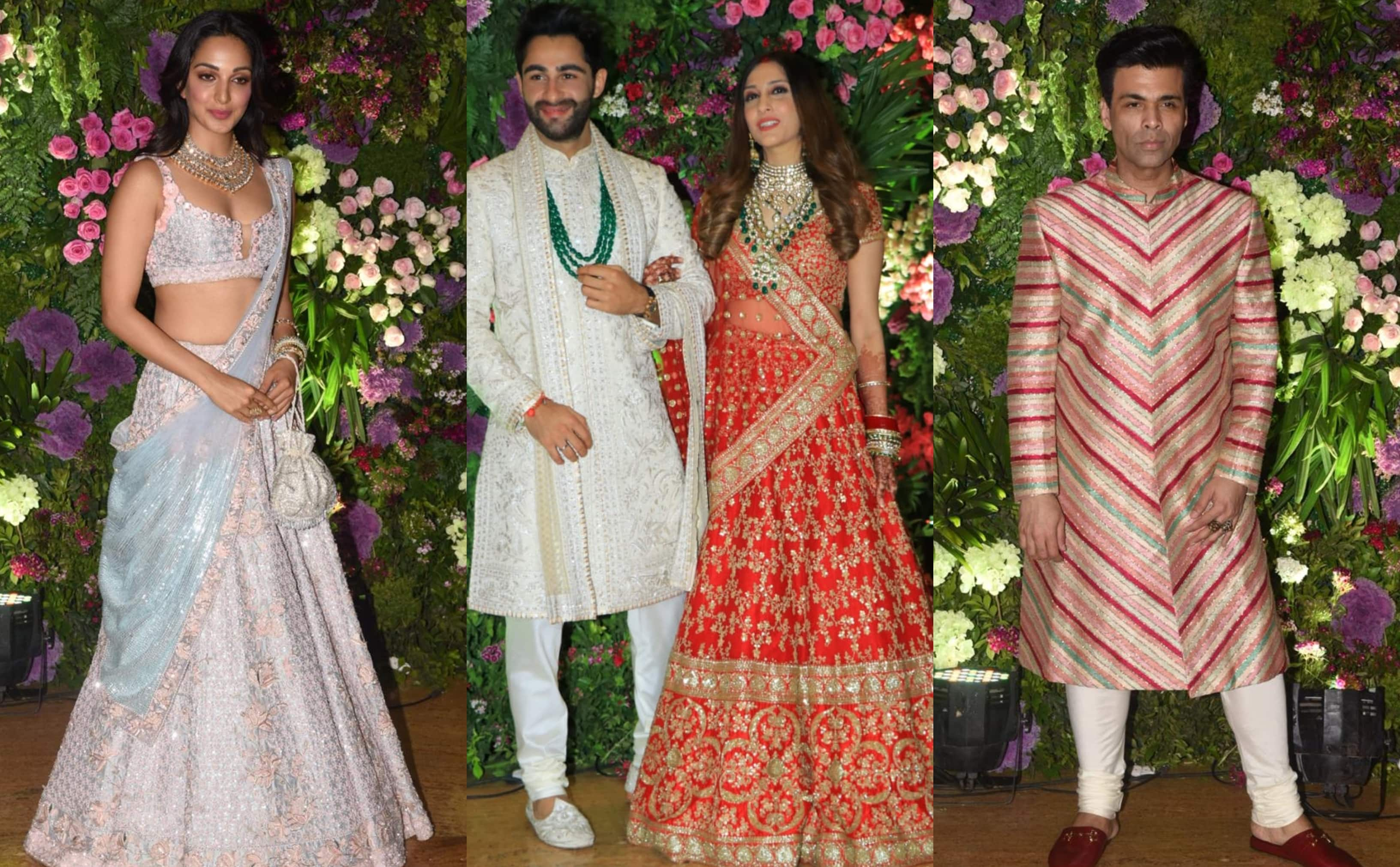 Armaan Jain Wedding Reception: Amitabh Bachchan, Karan Johar, Kiara Advani Bring The Bollywood Charm To Evening Among Others