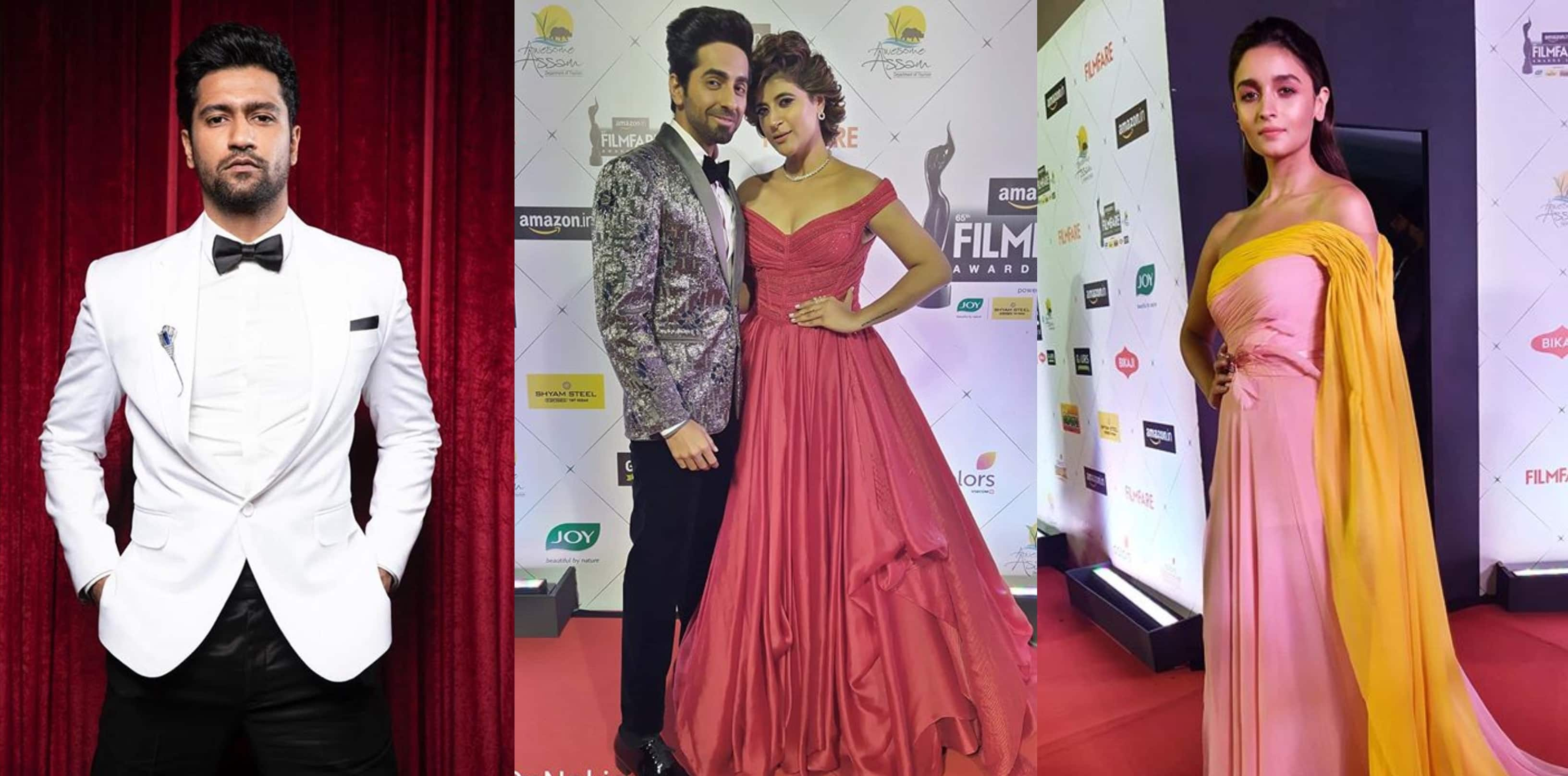 Filmfare Awards 2020: Ayushmann Khurrana, Vicky Kaushal, Alia Bhatt And Others Dazzle At The Red Carpet