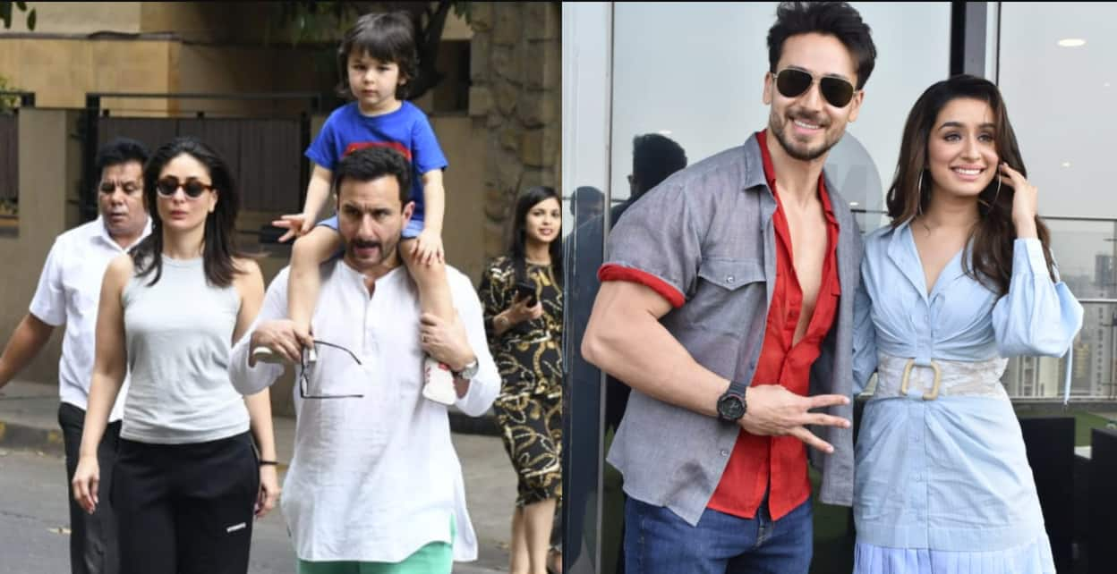 Spotted: Saif Ali Khan, Kareena Kapoor And Taimur Go Out Together, Tiger-Shraddha Promote Baaghi 3