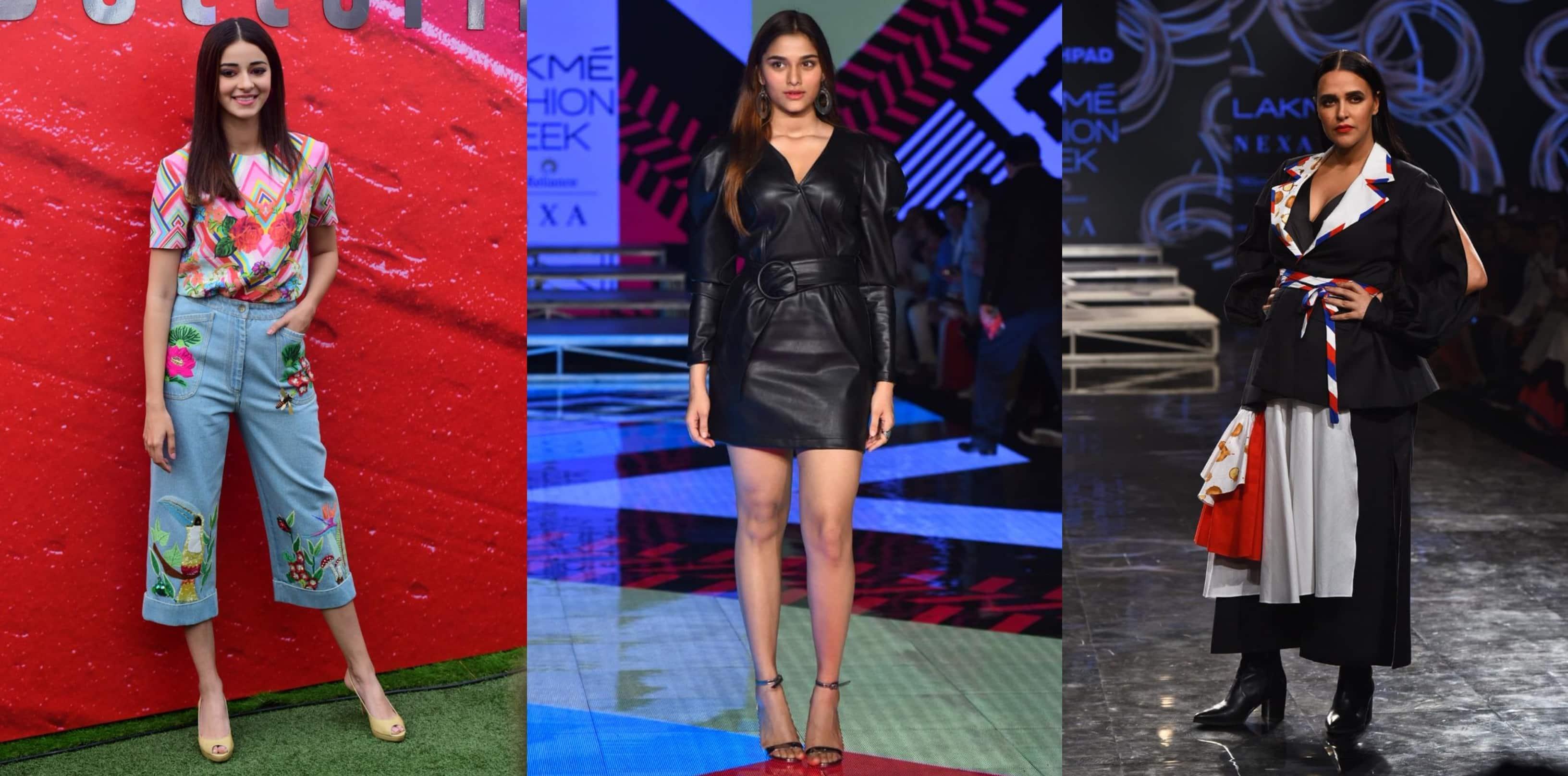 Spotted: Ananya Panday Goes Glam, Saiee Manjrekar Walks The Ramp At LFW 2020