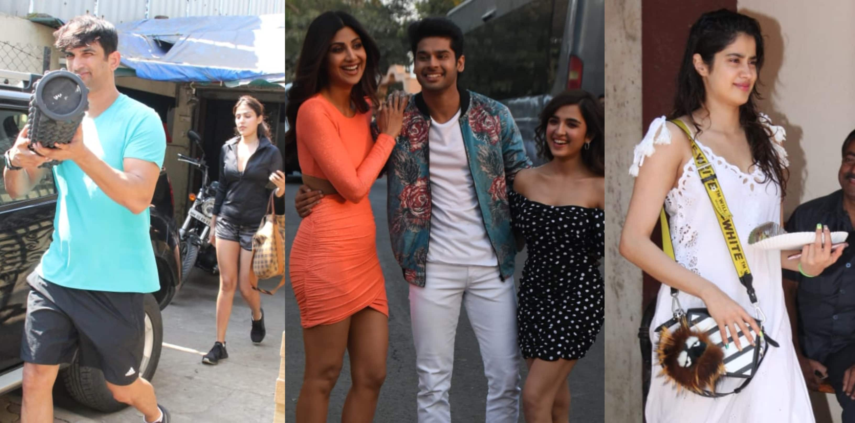 Spotted: Sushant Singh Rajput And Rhea Chakraborty Seen Post Workout, Team Of Nikamma Enter Bigg Boss House!