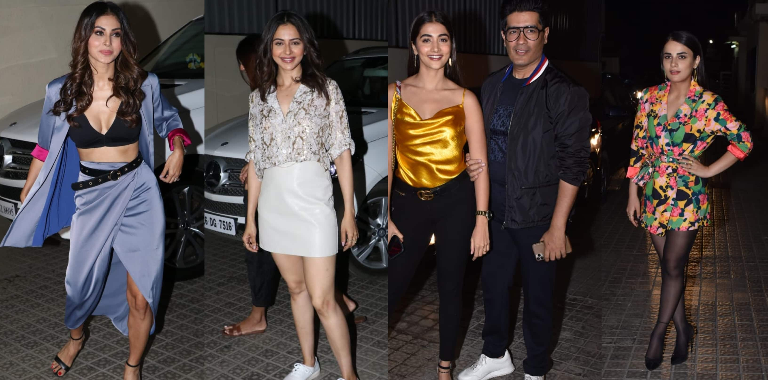 From Mouni Roy To Pooja Hegde And Rakul Preet Singh Bollywood Celebs Attend The Screening Of Angrezi Medium