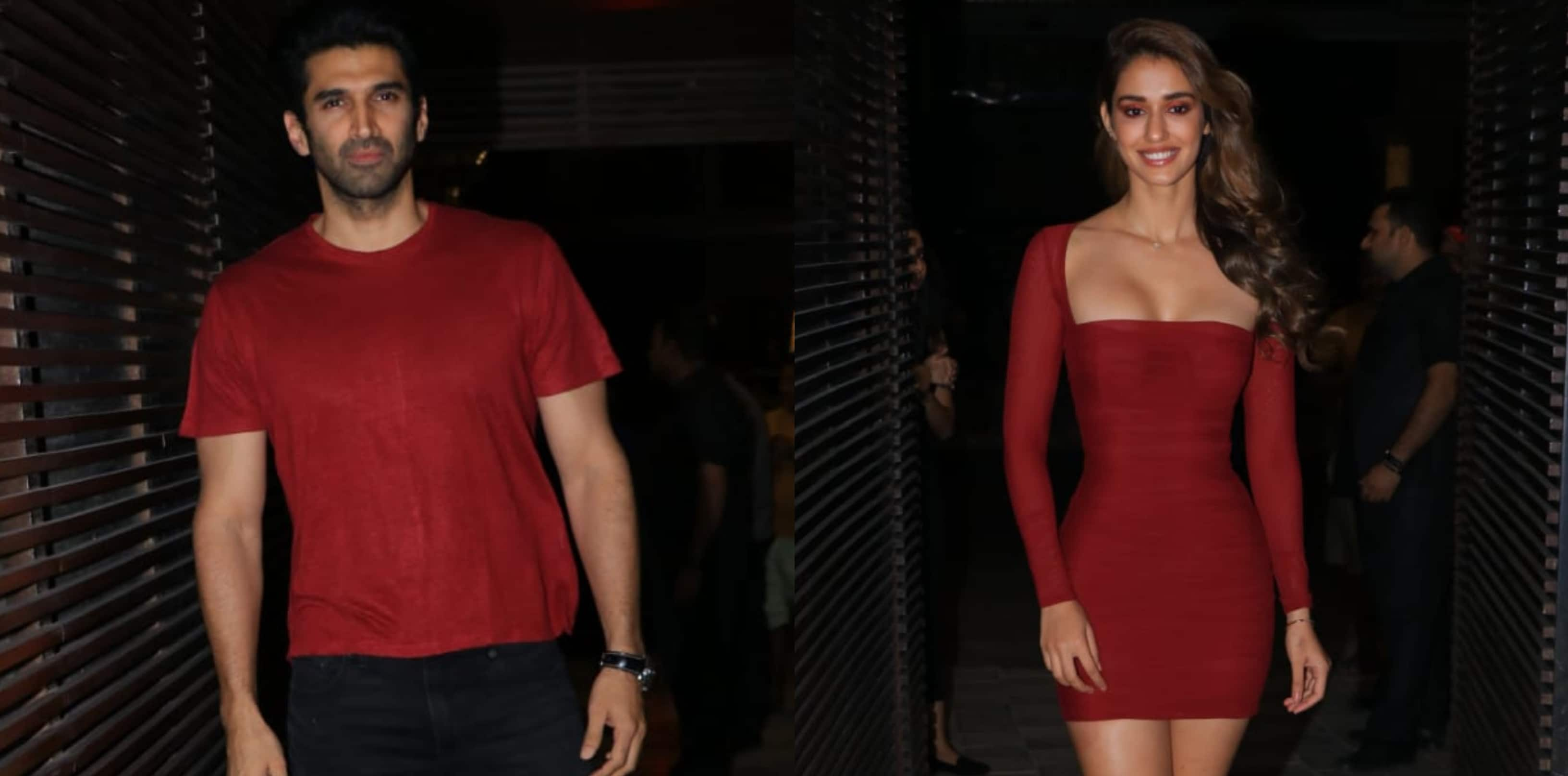 Malang Success Party: Disha Patani And Aditya Roy Kapur Are Colour Co-Ordinating And We Are Loving It!