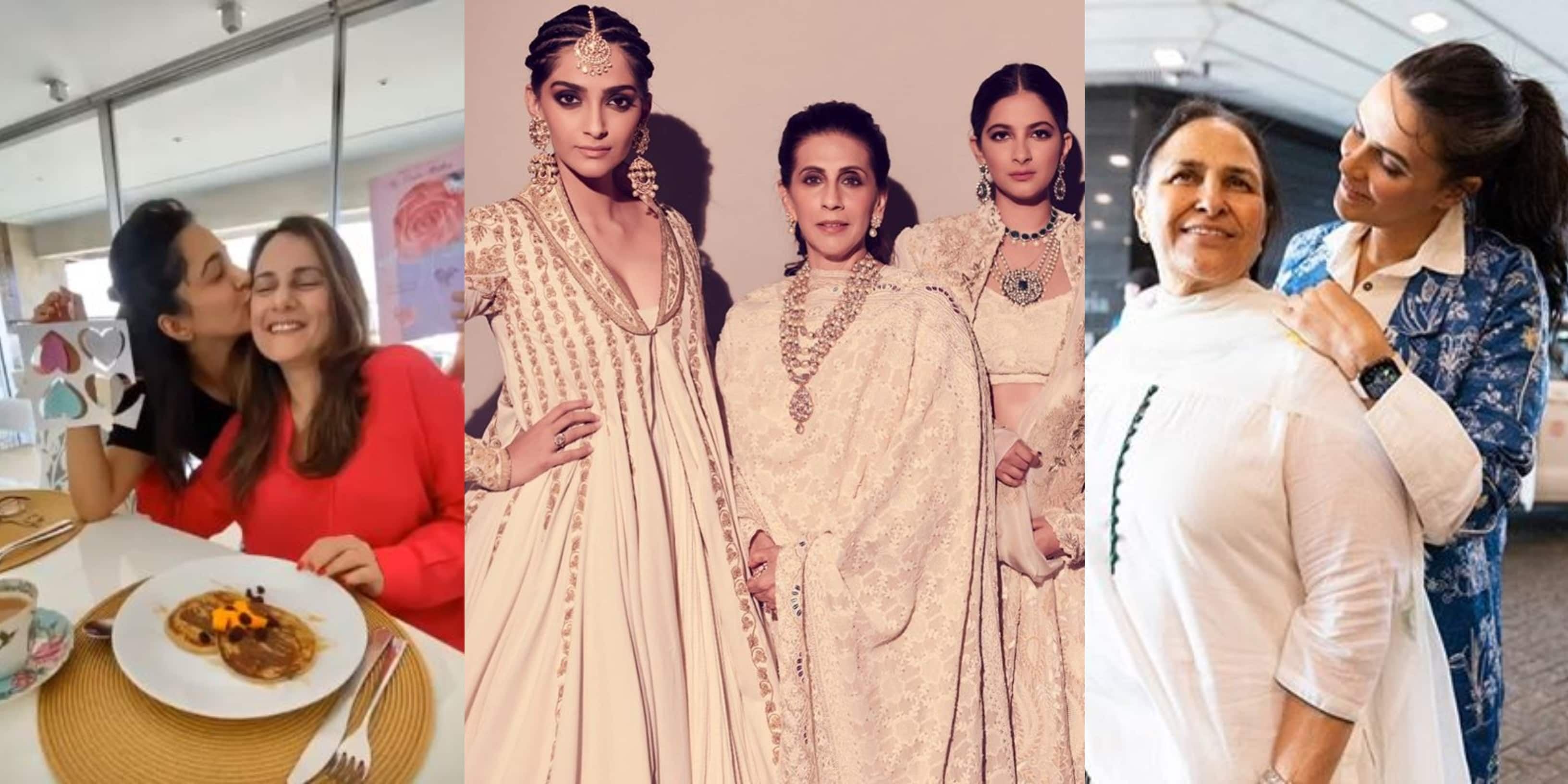 Mother's Day 2020: From Kiara Advani To Sonam Kapoor, Bollywood Celebs Wish Their Mommy Dearest