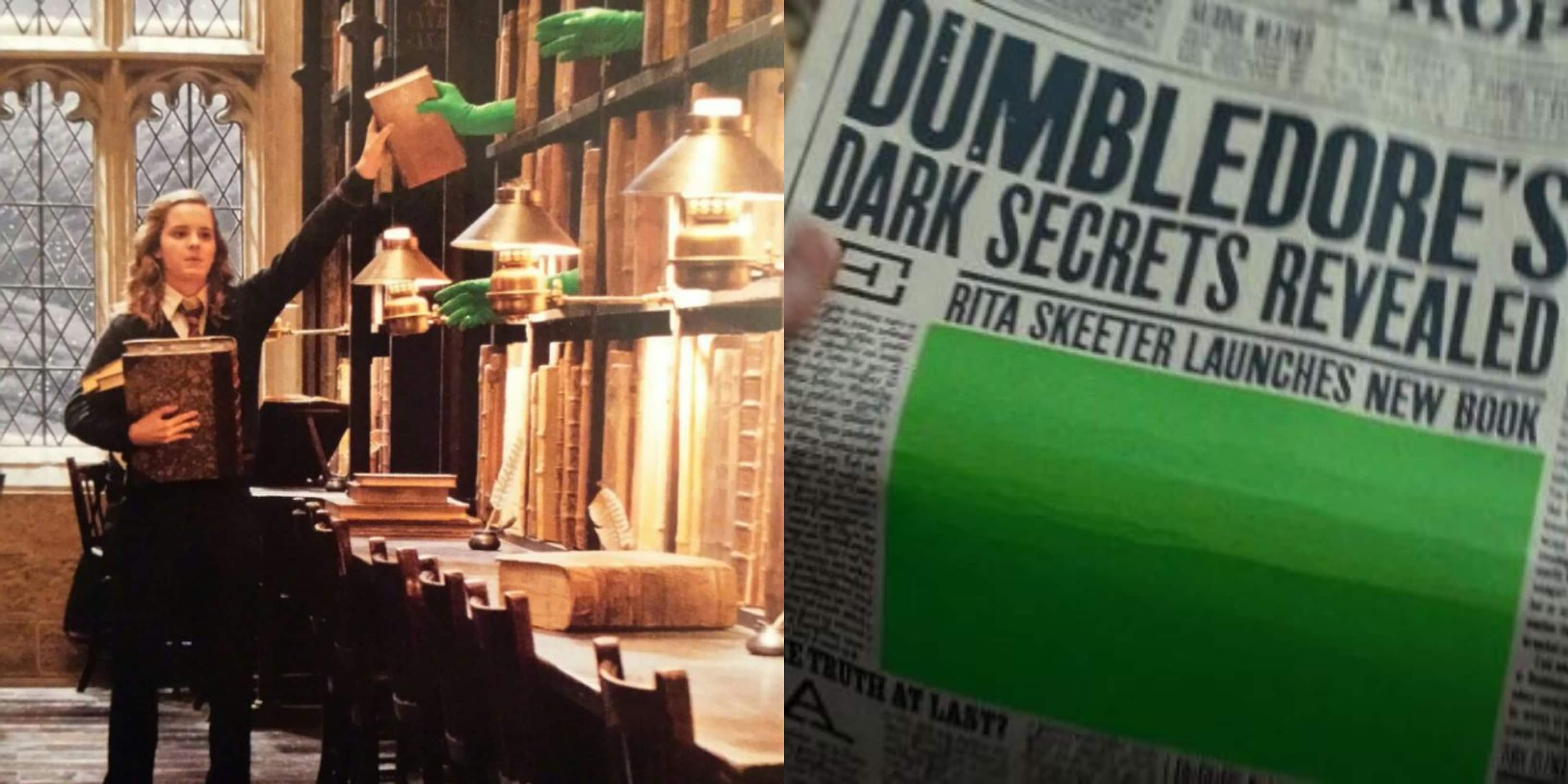 These Behind The Scenes Photos From The Harry Potter Films Show You How The Magic At Hogwarts Really Happened