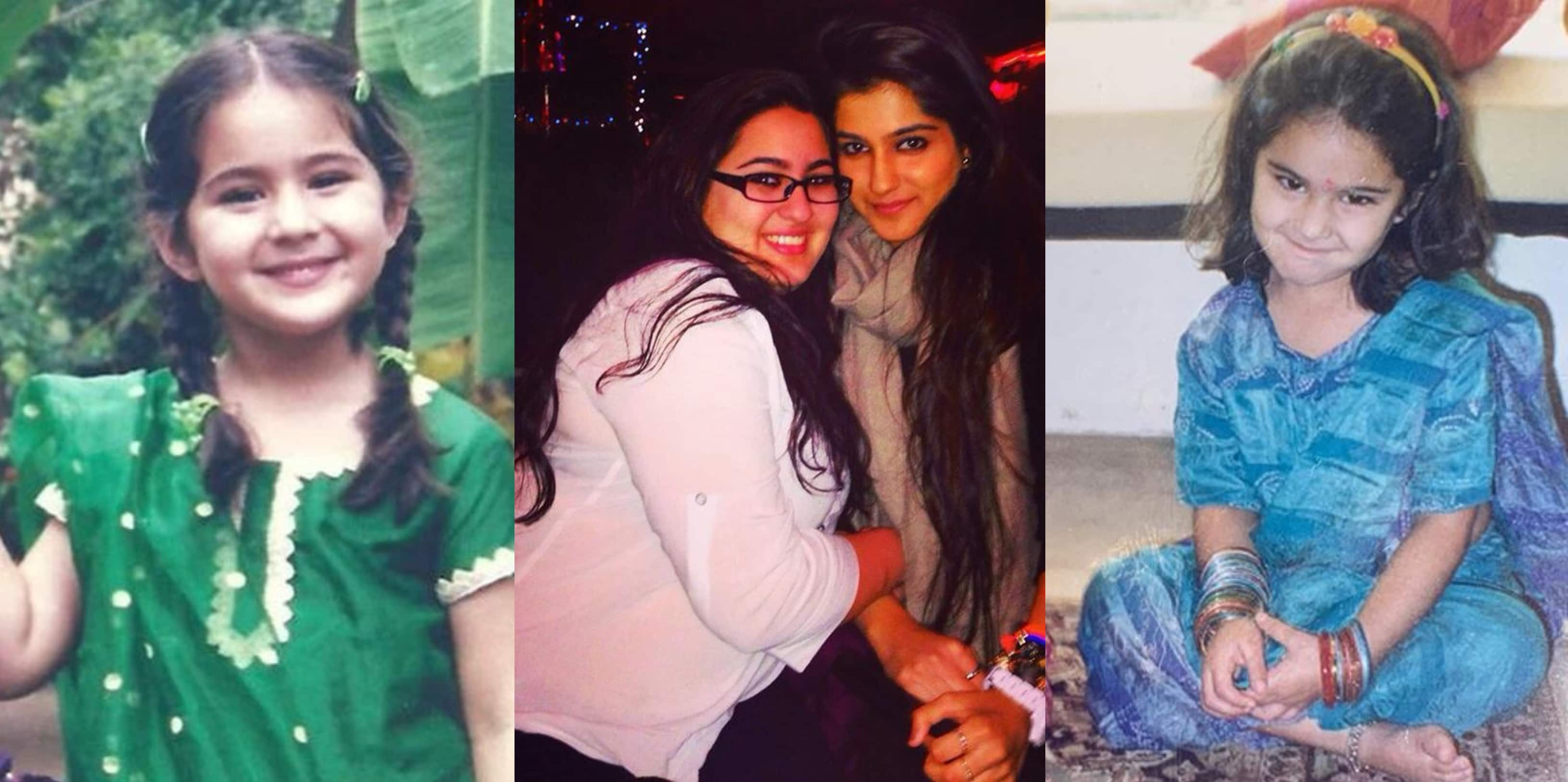 Sara Ali Khan Shares Throwback Pictures In Appreciation Post For Friends, Her Million Dollar Smile Will Make Your Day!