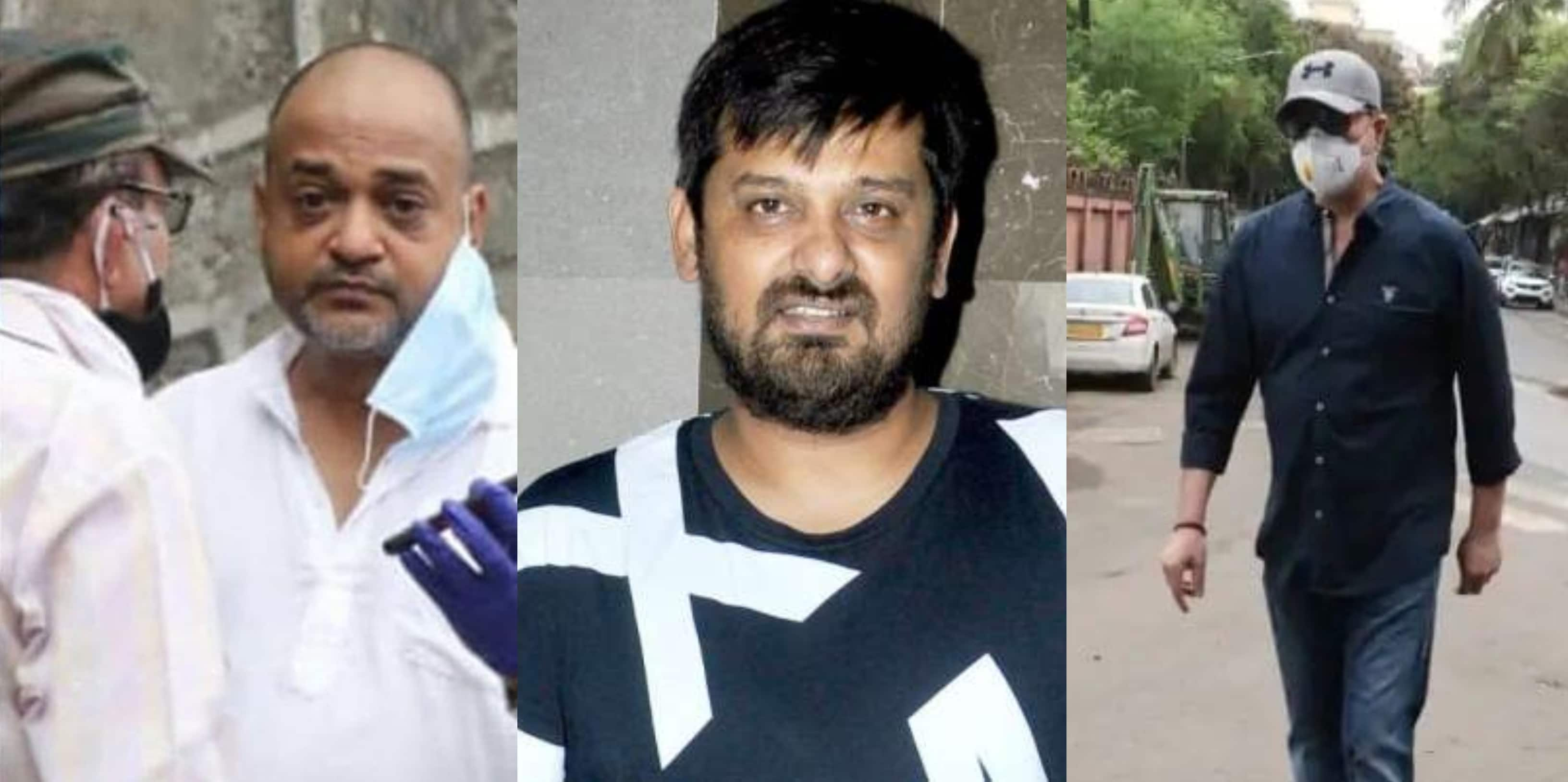 Wajid Khan Last Rites: Brother Sajid Gets Teary Eyed; Aditya Pancholi, Aalim Hakim Pay Last Tribute