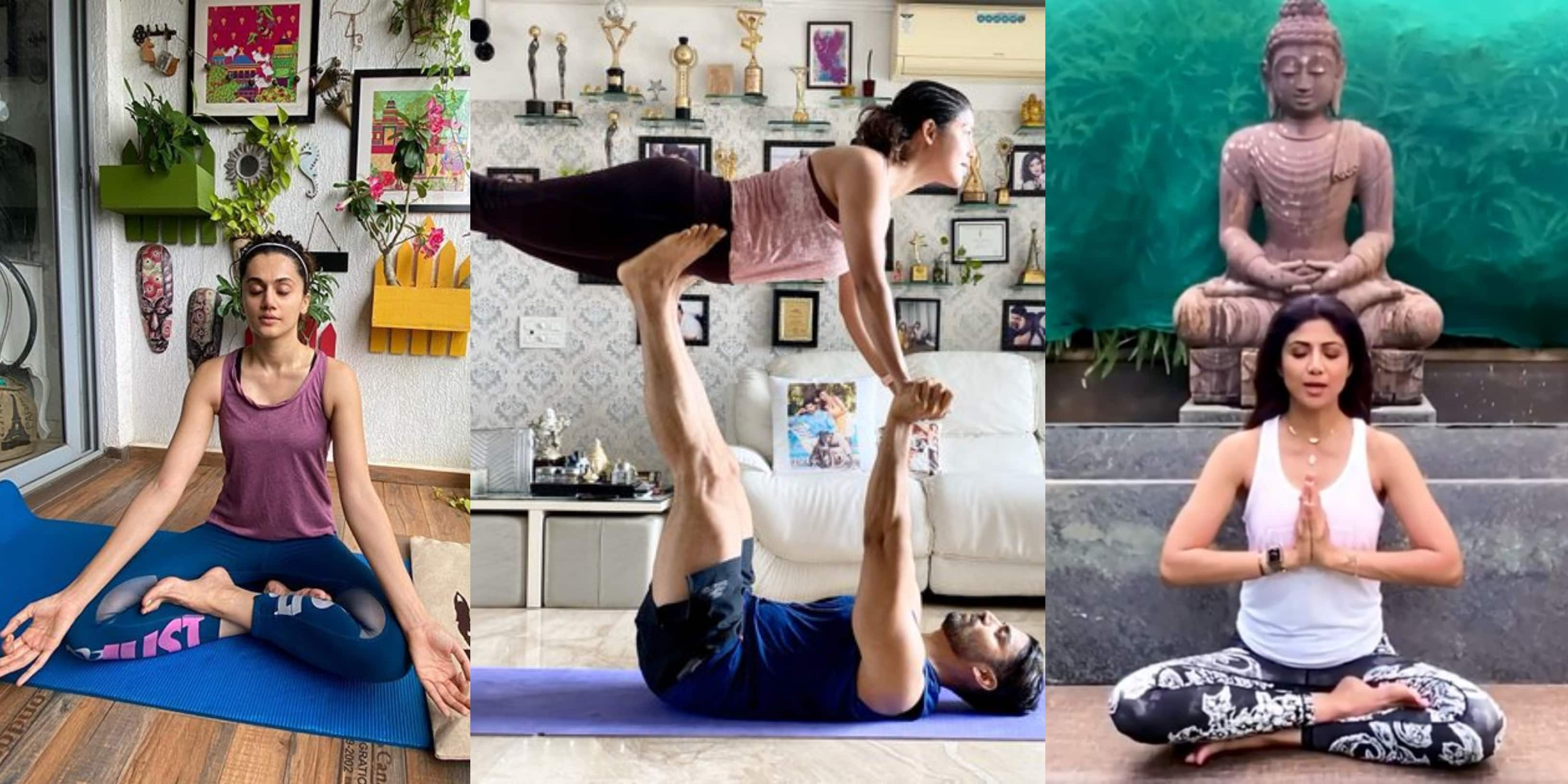 International Yoga Day 2020: Bollywood And TV Celebs Celebrate The Day With Fervour