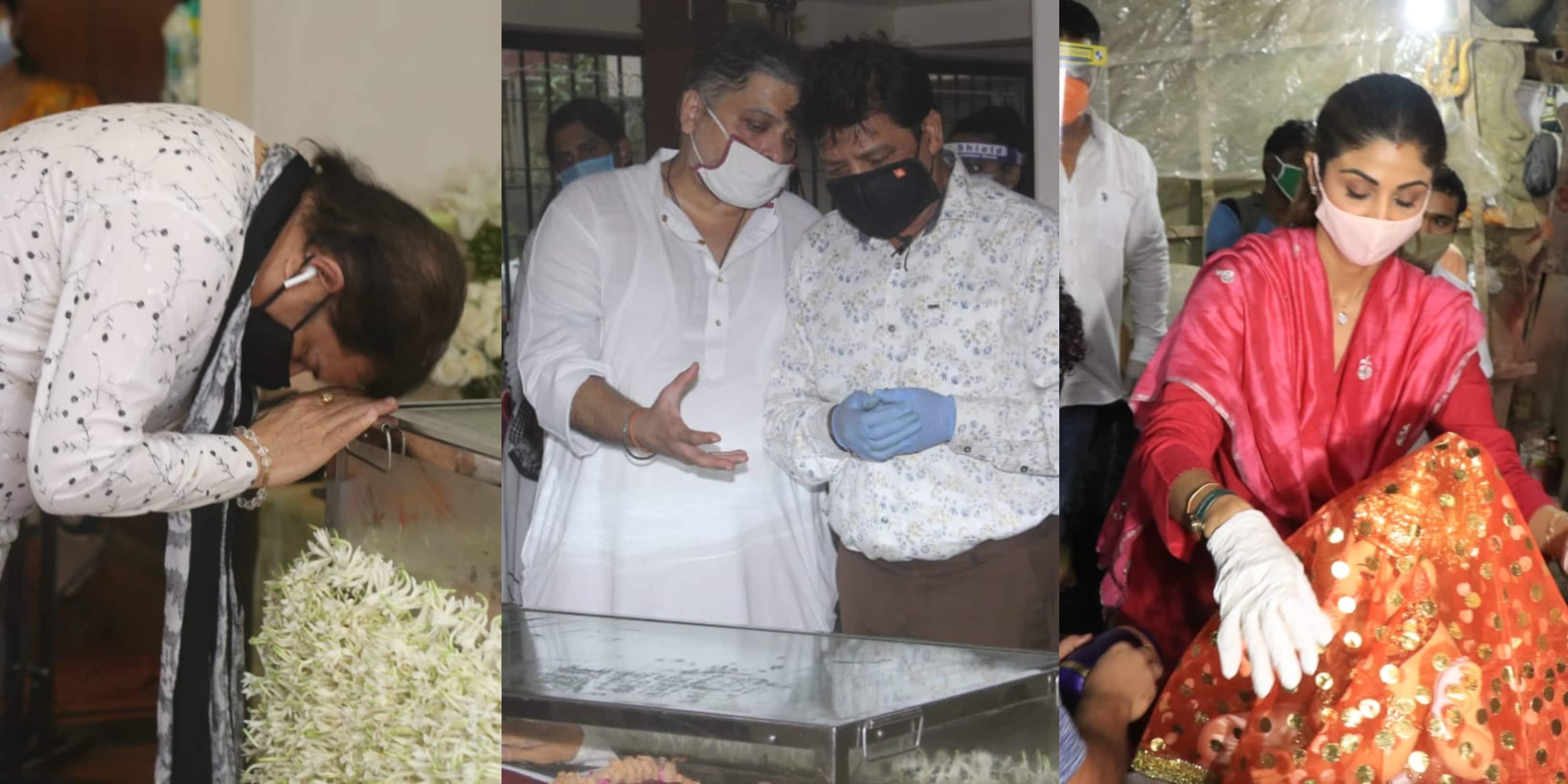 Spotted: Udit Narayan, Anup Jalota Pay Their Homage To Pandit Jasraj; CBI Arrives In Mumbai
