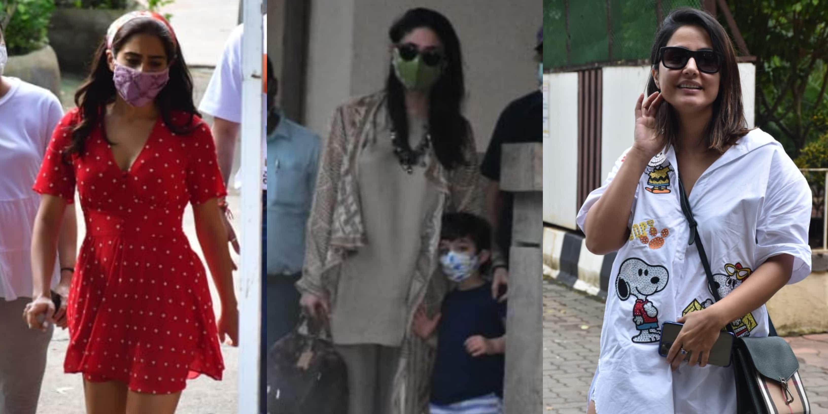 Spotted: Kareena Kapoor Khan Seen With Taimur, Sara Ali Khan Shoot At Mehboob Studios