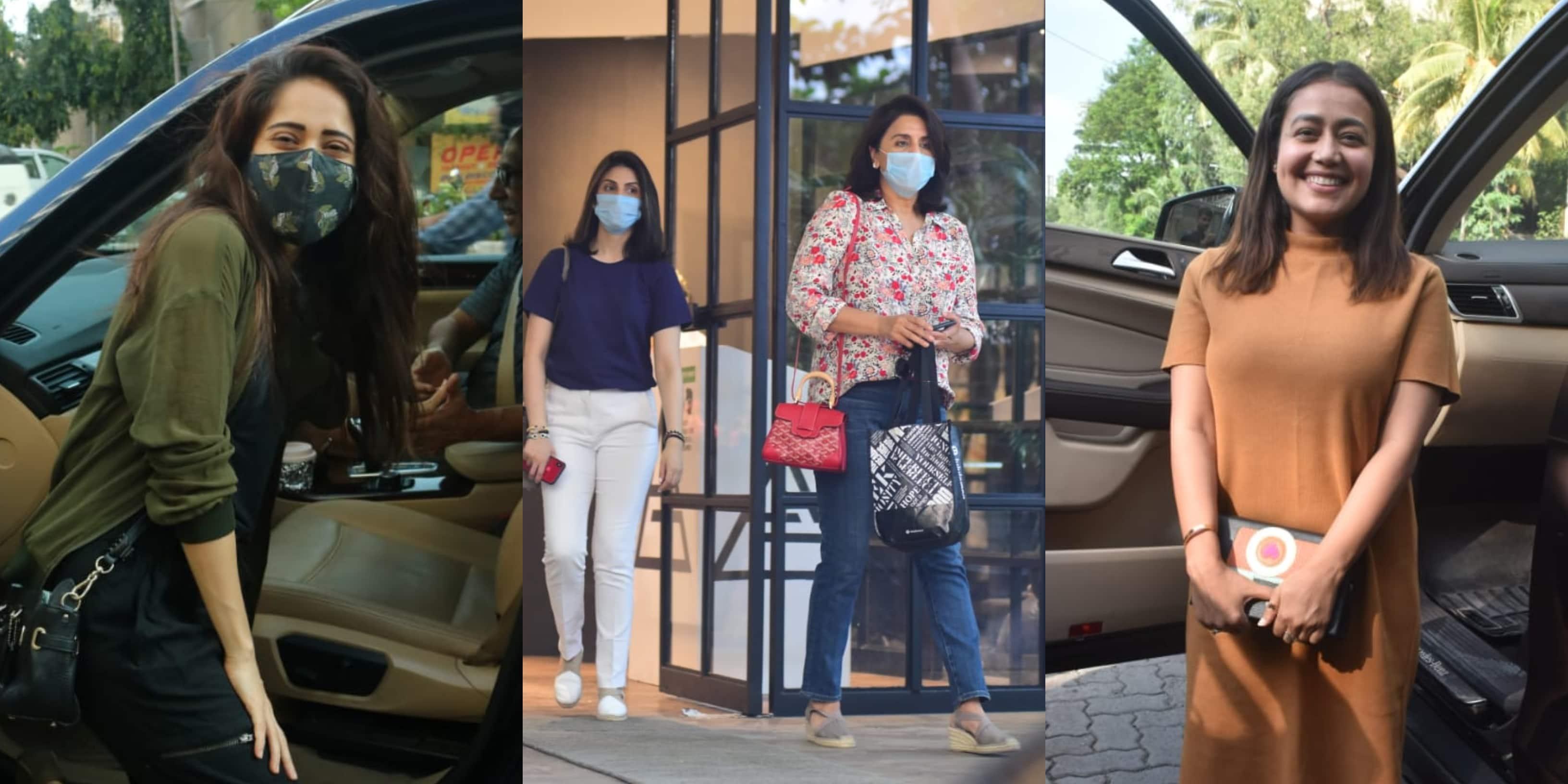 Spotted: Neetu Kapoor, Riddhima Snapped Outside Salon; Nushrratt Bharuccha, Neha Kakkar Are All Smiles
