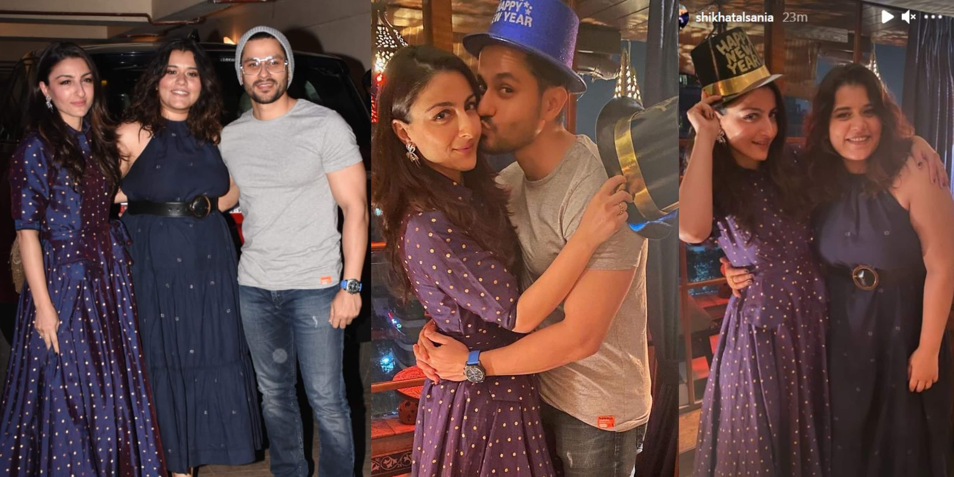 New Year 2021: Kareena Kapoor Khan Throws A Party, Soha, Kunal And Shikha Talsania Attend; See Pics