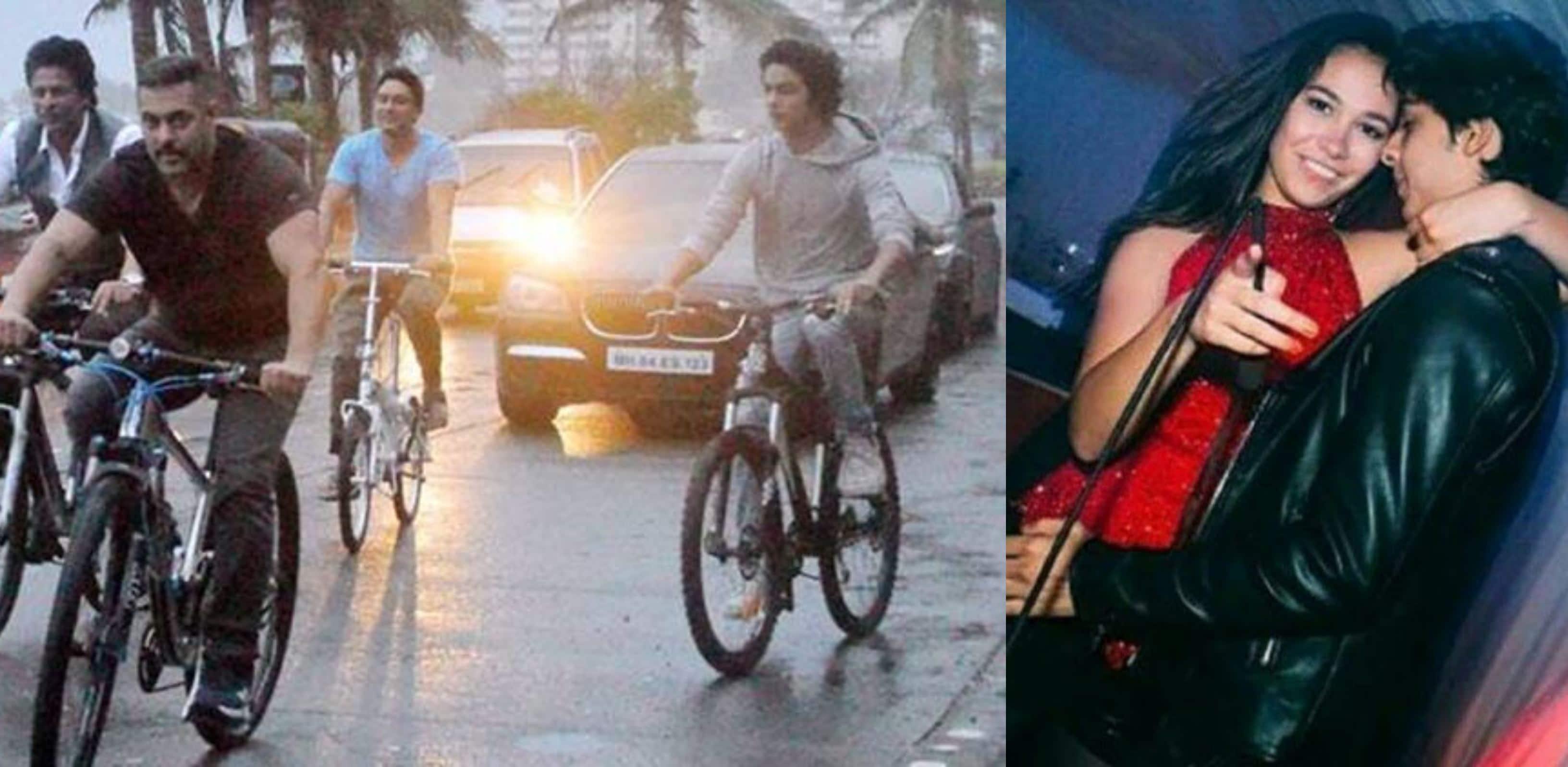 सलमान खान, जया बच्चन के साथ आर्यन खान की ये अनसीन फ़ोटोज़ देखी हैं?